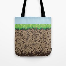 Minecraft Block Tote Bag