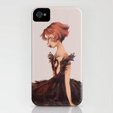 Black Swan iPhone (4, 4s) Slim Case