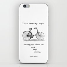 You Must Keep Moving iPhone & iPod Skin