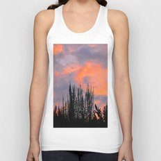 Sunset Silhouettes Unisex Tank Top