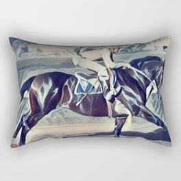 """"""" Morning Workout """" Rectangular Pillow"""