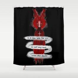 Seether Rabbit Shower Curtain