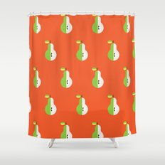 Fruit: Pear Shower Curtain