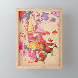 Divas - Veronica Lake Framed Mini Art Print