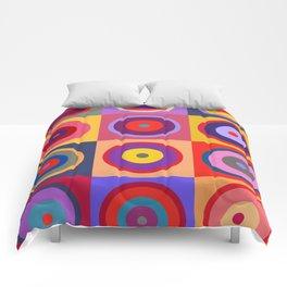 Kandinsky #25 Comforters