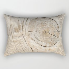 Wood Rectangular Pillow