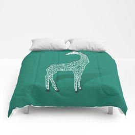 Animal Kingdom: Giraffe III Comforters