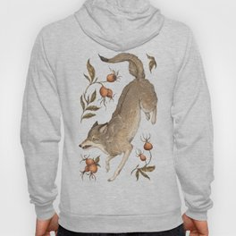 The Wolf and Rose Hips Hoody