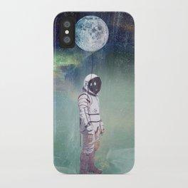 Moon Balloon iPhone Case