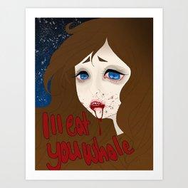 Please Break My Heart Art Print