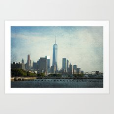 One World Art Print