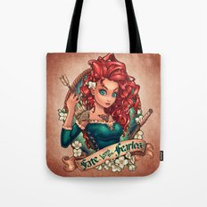 Fate Loves The Fearless Tote Bag