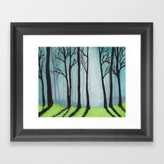 The Glen Framed Art Print