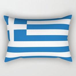 Flag of greece Rectangular Pillow