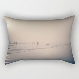 Grey Beginning Rectangular Pillow