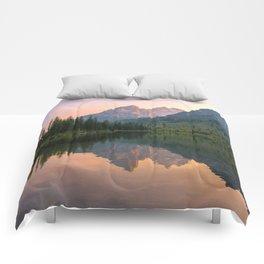 Reflecting The Tetons Comforters