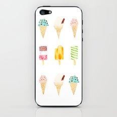 ice cream selection iPhone & iPod Skin