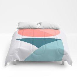 Geometric Form No.1 Comforters