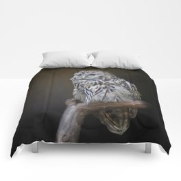 Lovely cute owl Comforters