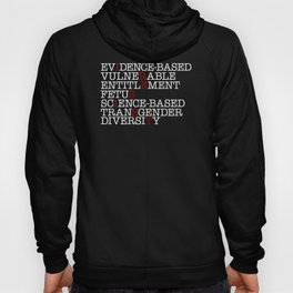 7 Banned Words CDC Center Disease Control Donald Trump I RESIST Hoody