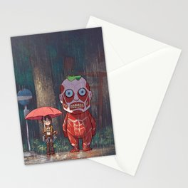 My Neighbor Titan Stationery Cards