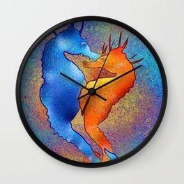 Tenimessa V1 - amazing seahorses Wall Clock