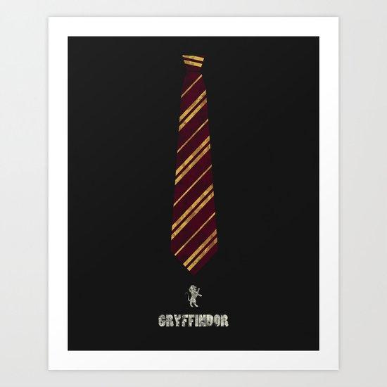 Gryffindor Art Print