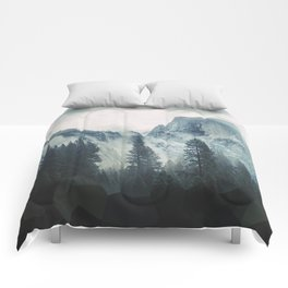 Cross Mountains Comforters