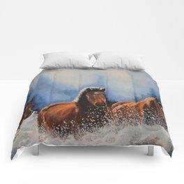 Water Horses Comforters