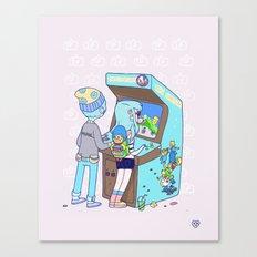 Insert 25 Cents Canvas Print