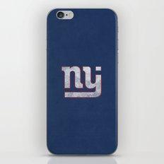 New Jersey Football Giants iPhone & iPod Skin