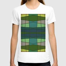 Green Pattern Turtle T-shirt
