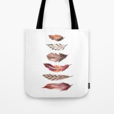Bohemian Feathers Tote Bag