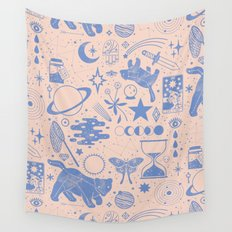 Collecting the Stars Wall Tapestry