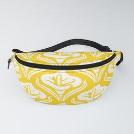Calla Lily Pattern Yellow Fanny Pack