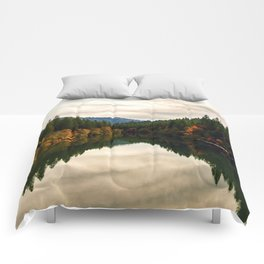The Pit River in Northern California Comforters