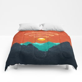 OUT OF OFFICE Comforters