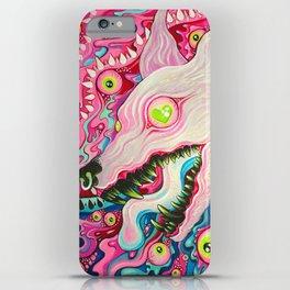 Glitterwolf Acrylic Painting iPhone Case