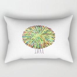 Poofy Splotch Rectangular Pillow