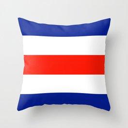 Semaphore C Throw Pillow