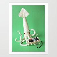 Squid Gamer Art Print