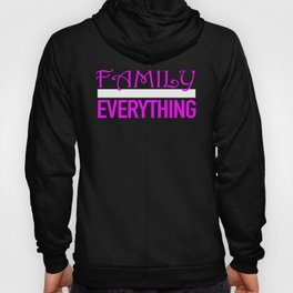 Beautiful Family Over Everything Design For Women Hoody