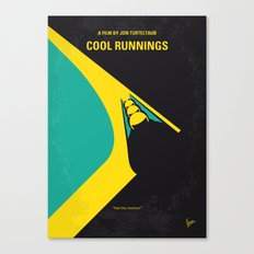 No538 My COOL RUNNINGS minimal movie poster Canvas Print