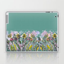 Flowers everywhere! Laptop & iPad Skin
