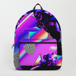 Sad Statue Poster Backpack