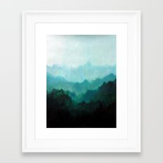 Mists No. 2 Framed Art Print