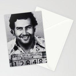 Pablo Escobar Mug Shot 1991 Vertical Stationery Cards