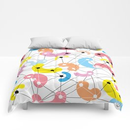 Colorful sweets Comforters