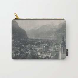 Swiss Town Lithography Carry-All Pouch