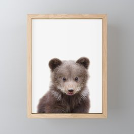 Bear Framed Mini Art Print
